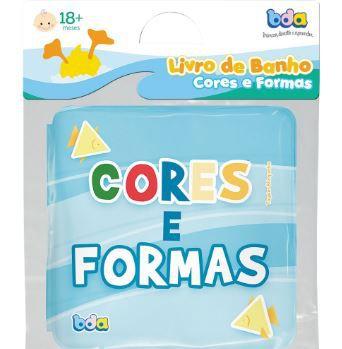 Livro de Banho Cores e Formas - Toyster Bda Ref 2128