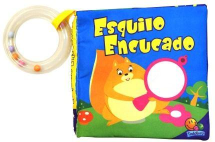 Livro de Banho Esquilo Encucado - Todolivro Ref 628331