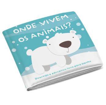 Livro de Banho Onde Vivem os Animais - Multikids Ref Bb174