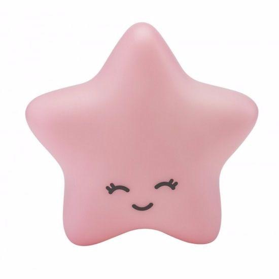 Luminaria Estrela Rosa - Decorfun