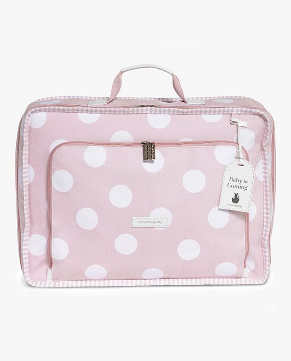 Mala de Viagem Vintage Bubbles Rosa - Masterbag Ref 12bub402