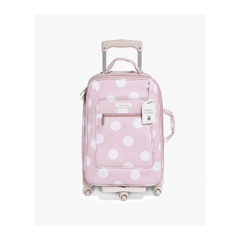 Mala Rodinha 1 Compartimento Bubbles Rosa - Masterbag Ref 12bub405