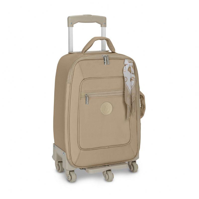 Mala Rodinha 1 Compartimento Caqui - Masterbag Ref 11BAB405