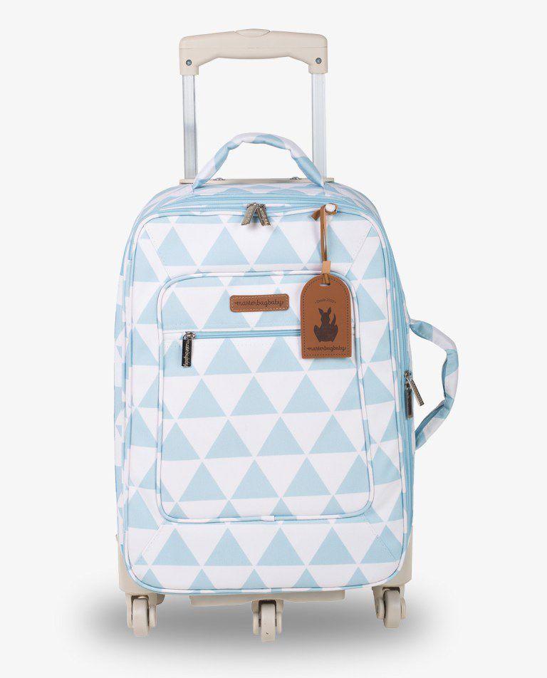 Mala Rodinha Azul Manhattan - Masterbag Ref 12man404
