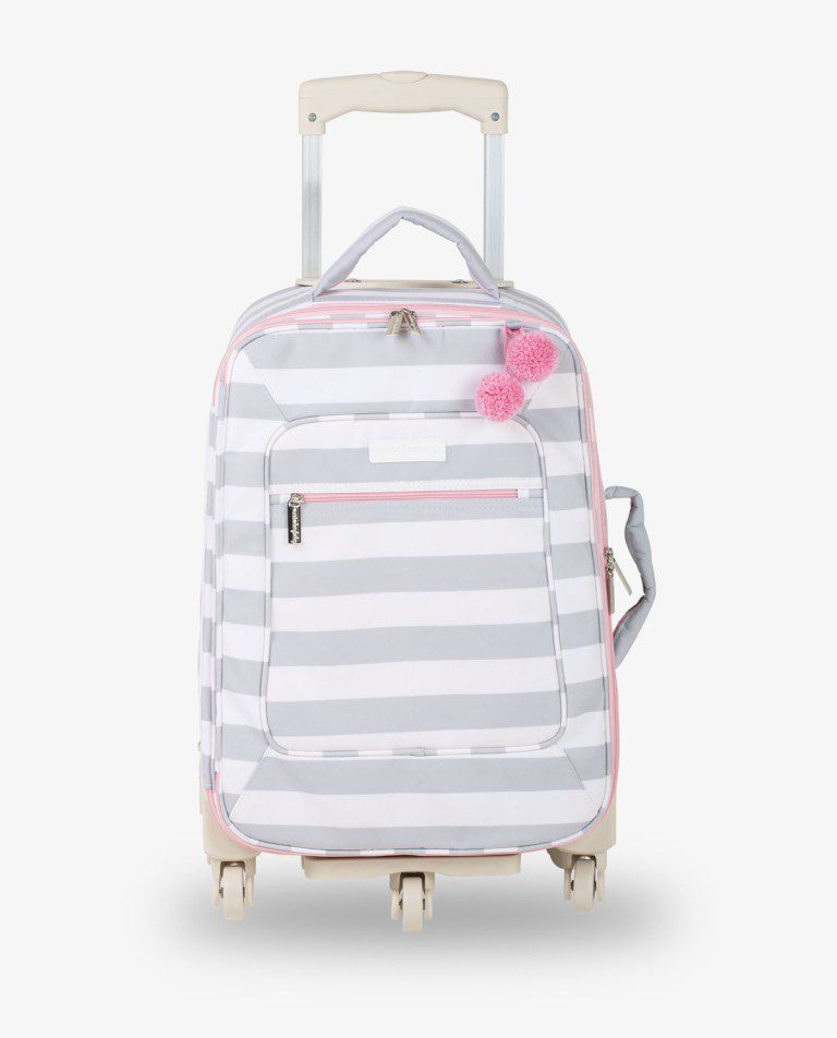 Mala Rodinha Ice Pink Candy Colors - Masterbag 12can404