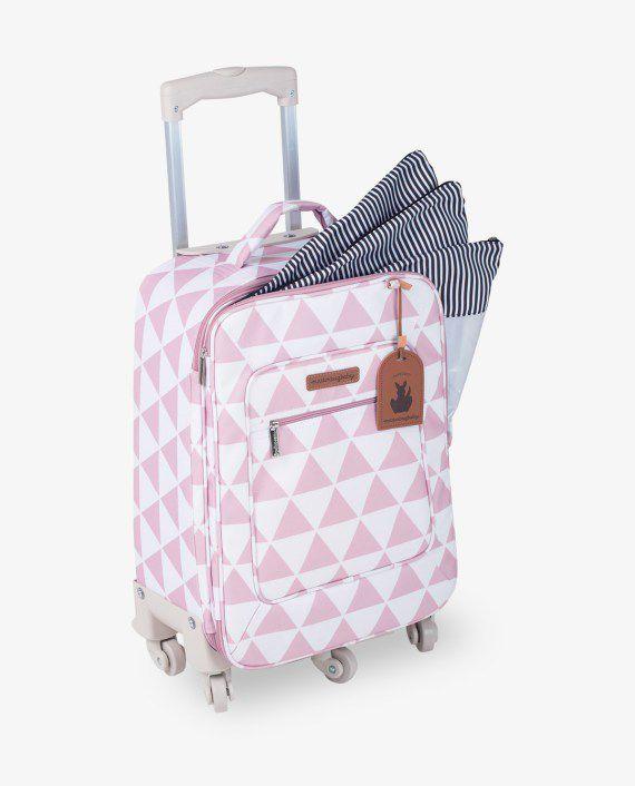 Mala Rodinha Rosa Manhattan - Masterbag Ref 12man404