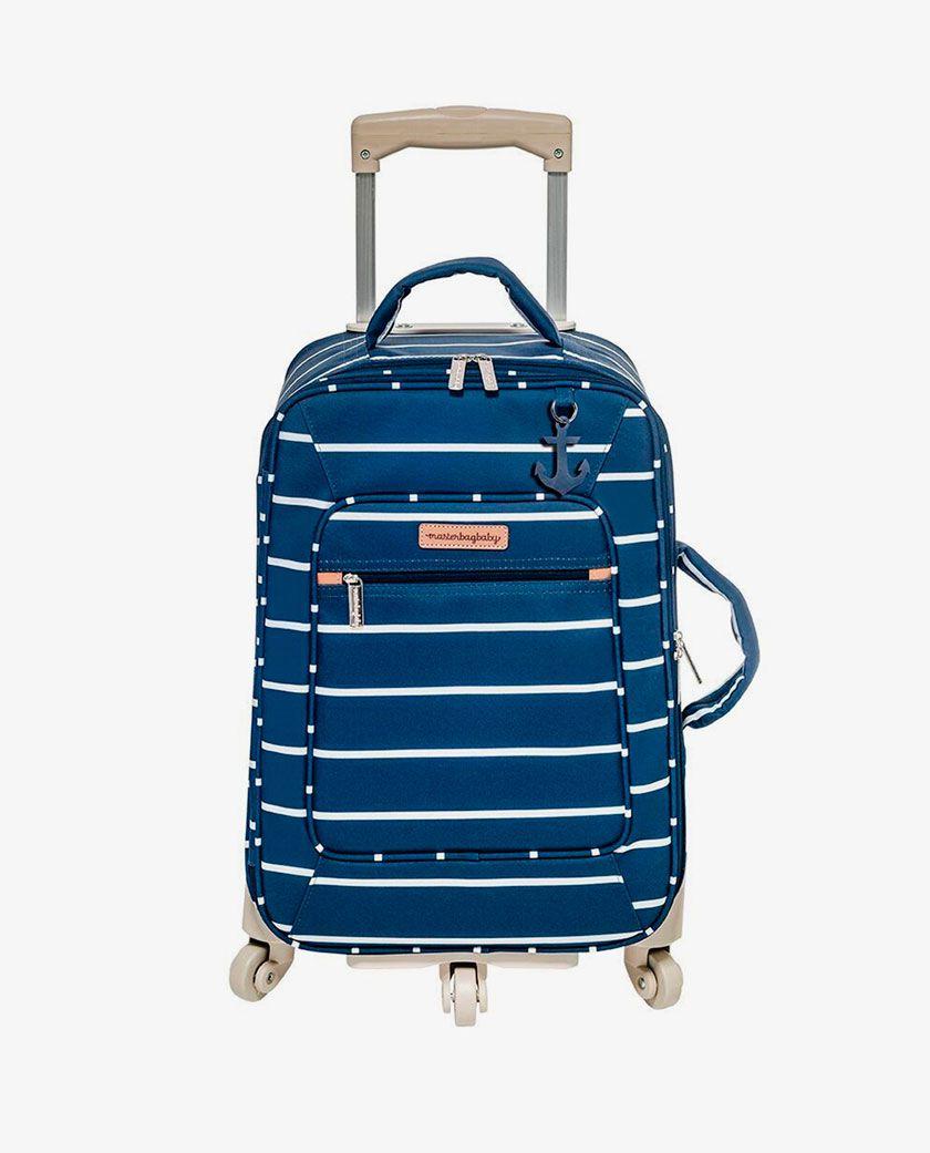 Mala Rodinhas Marinho Navy Star - Masterbag  Ref 12nvy404