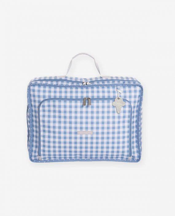 Mala Vintage Azul Sorvete - Masterbag Ref 12sor402
