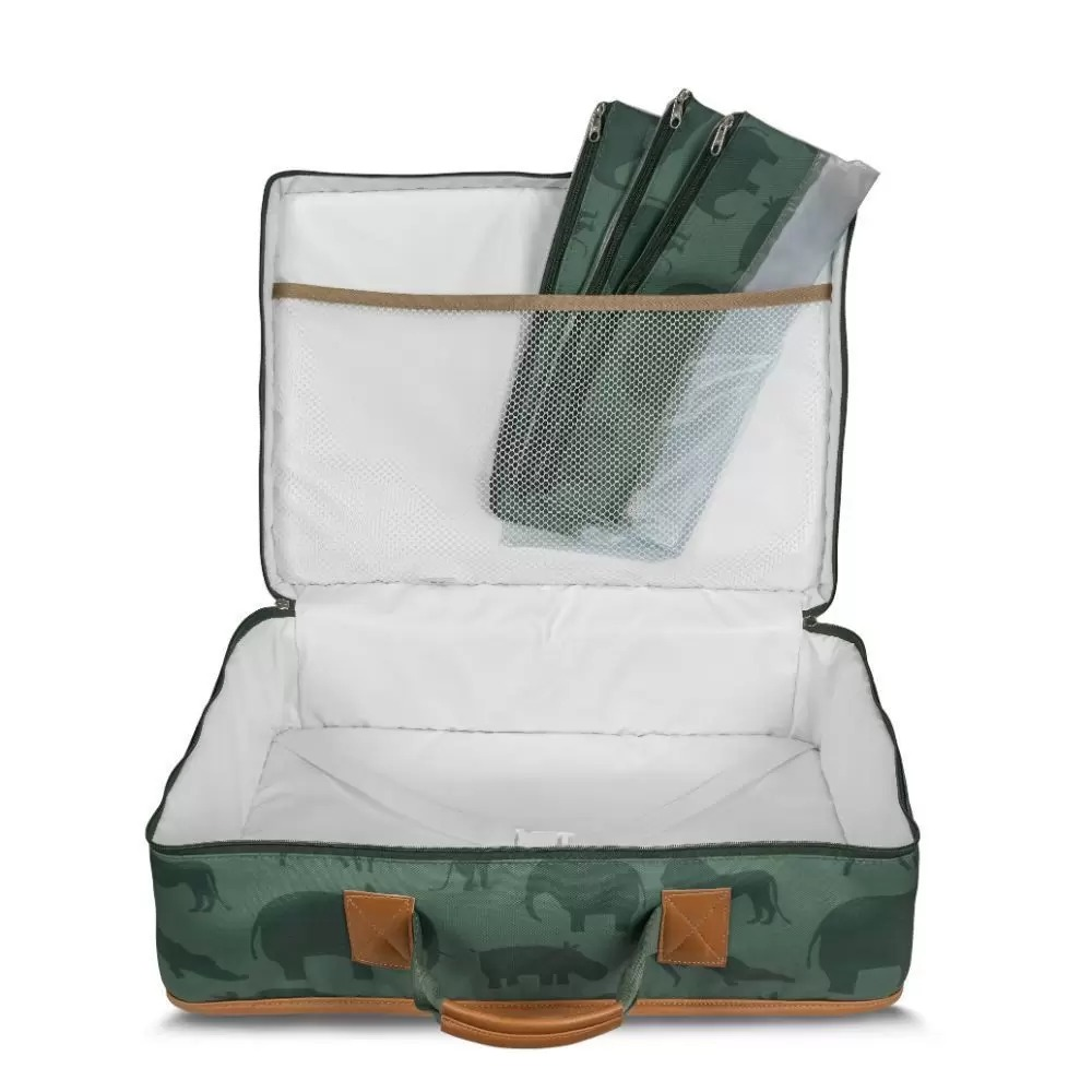 Mala Vintage Safari Verde - Masterbag