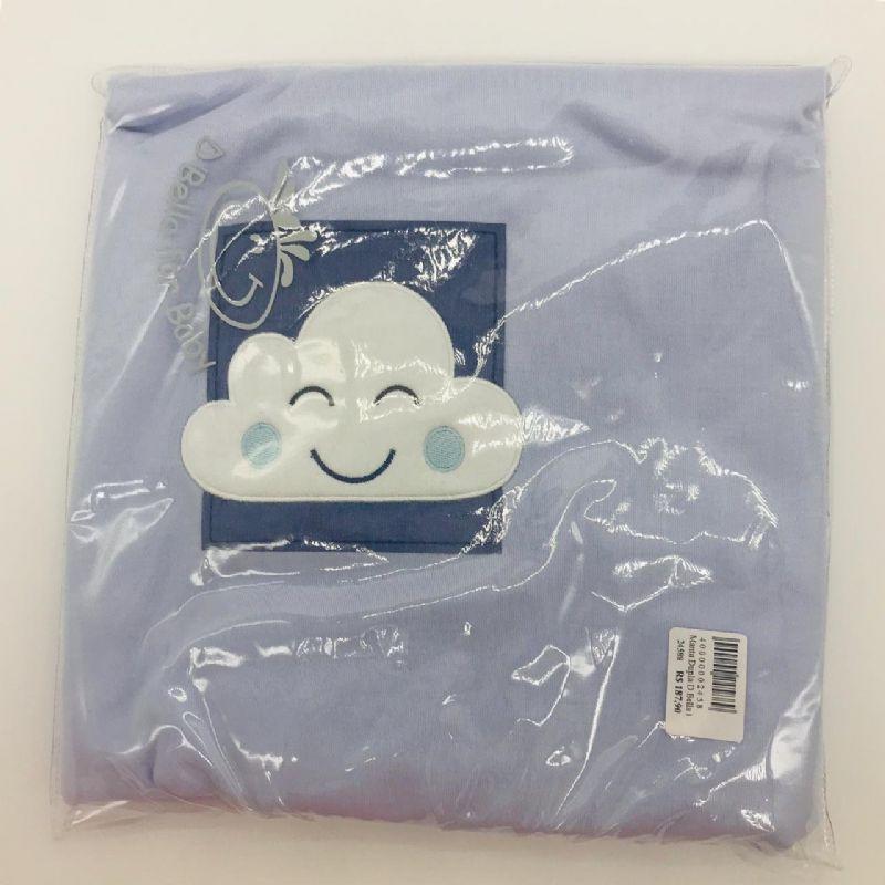 Manta Suedine Dupla Nuvem Azul - d Bella Ref 02322 Col