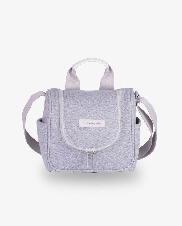 Frasqueira Térmica Emy Cinza Moletom - Masterbag Ref11mol238