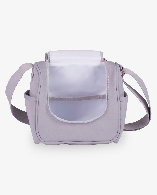 Frasqueira Térmica Emy Cinza Rose Gold - Masterbag Ref11ros238