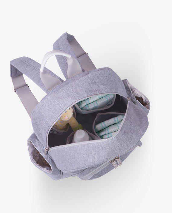 Mochila Noah Moletom Cinza - Masterbag Ref11mol307