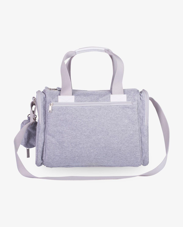Bolsa Anne Cinza Moletom - Masterbag Ref11mol210