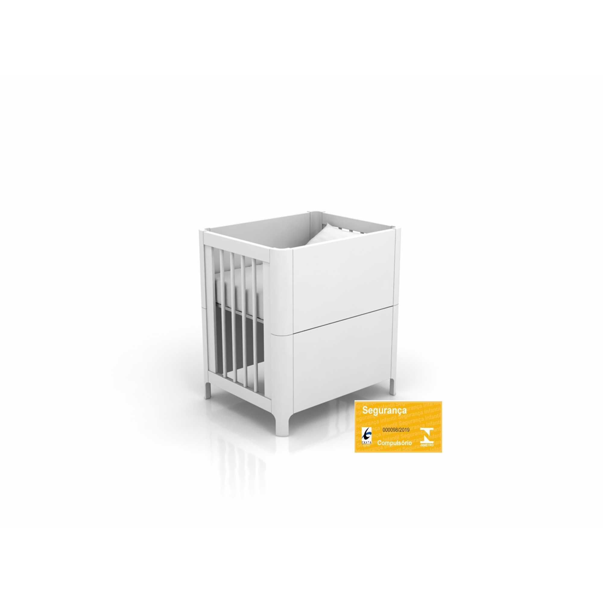Mini Berço Bloom - Quater REF 13100
