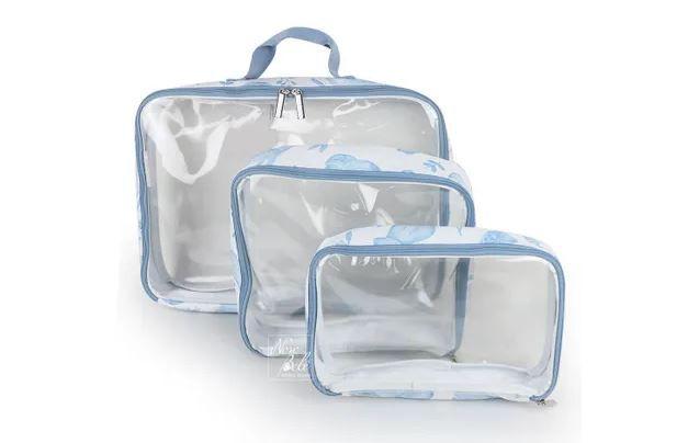 Organizador de Mala Fauna Azul - Masterbag Ref 11fau606