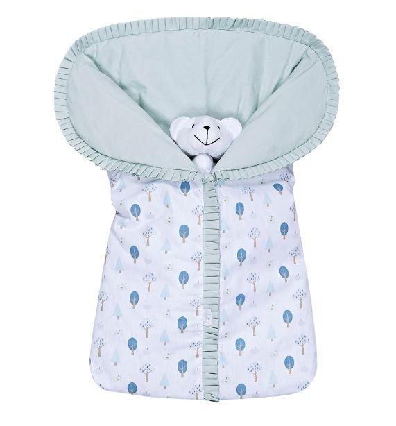 Porta Bebê Estampado Floresta - Batistela Ref 02061