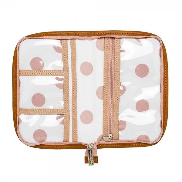 Porta Carteira de Vacinação Brooklyn Rosa -Masterbag