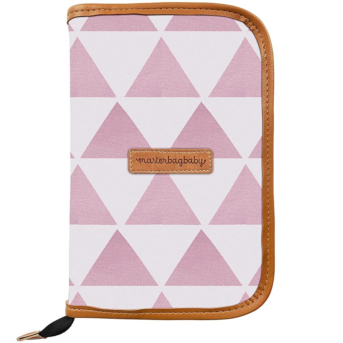 Porta Carteira de Vacinação  Manhattan Rosa - Masterbag