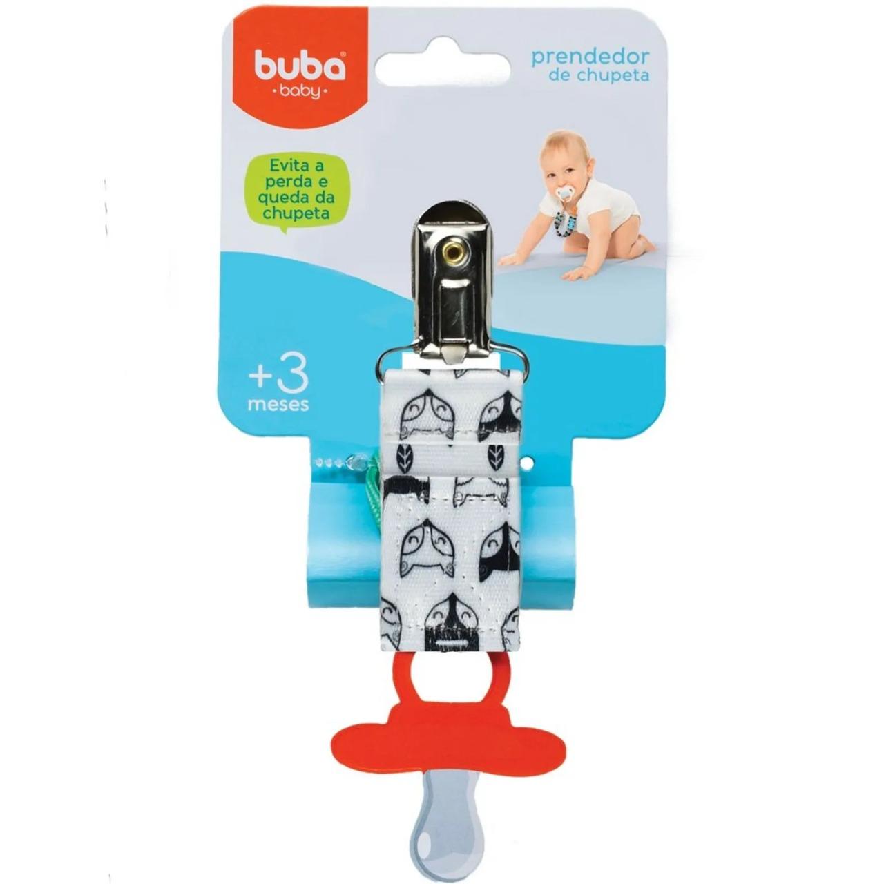 Prendedor de Chupeta Raposinha Buba Baby Ref 10670