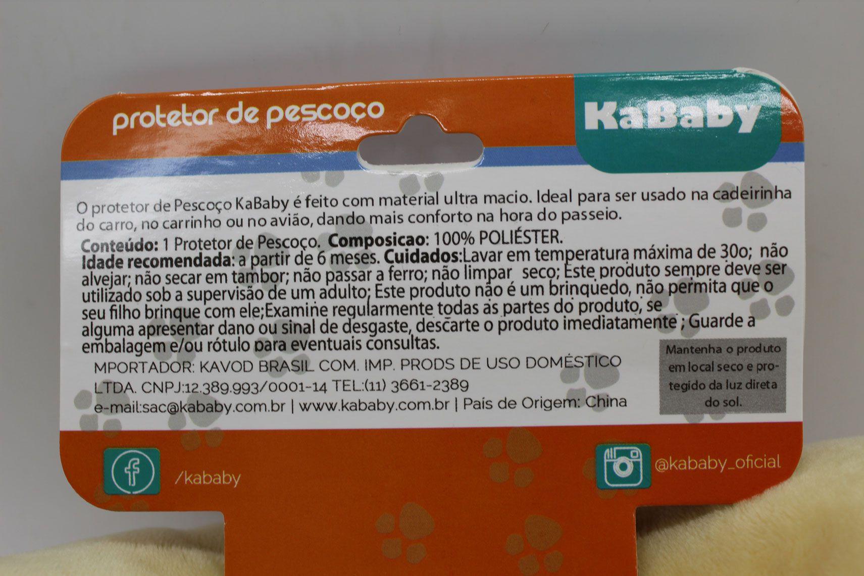 Protetor de Pescoço Cachorro Bege - Kababy Ref 14001c