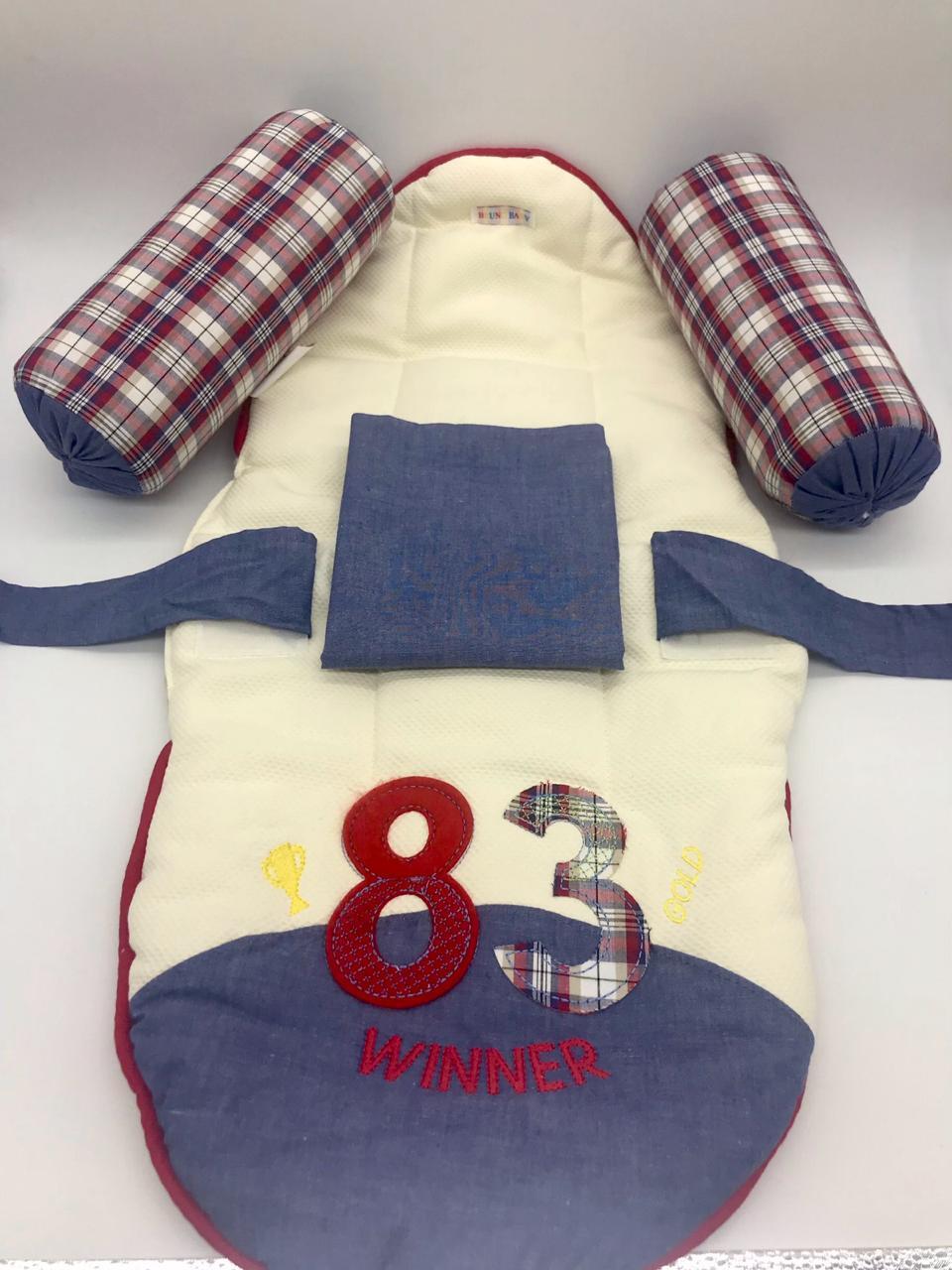 Protetor Para Bebê Colchonete e Fronha Winner 83 - Bruno Baby Ref 618 Masc