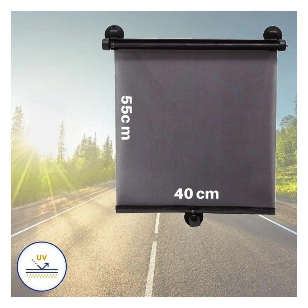 Protetor Solar Retrátil Para Carro Com Ventosa Buba Ref 10502