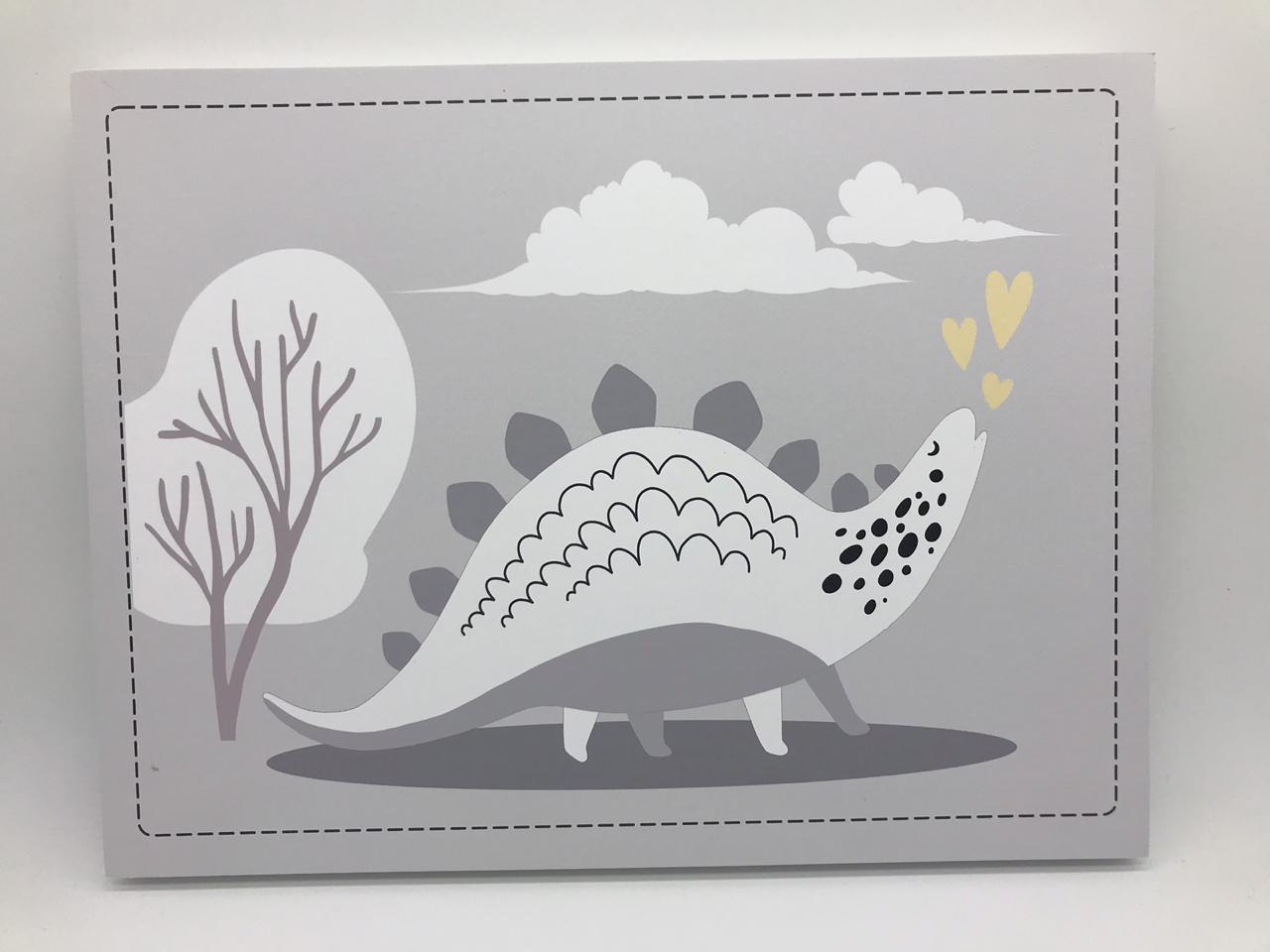 Quadro Moderninho Dino e Arvore - Divino Talento Ref 7999