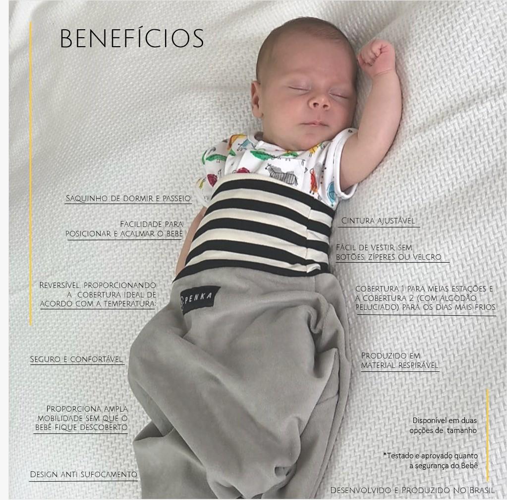 Saco de Dormir 0 a 8 meses Rafiki - Penka e co Ref Ballon