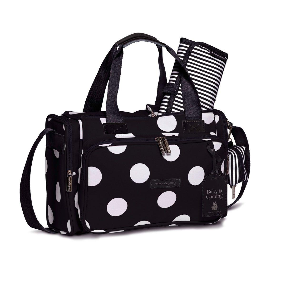 Sacola Anne Bubbles Preta Masterbag Ref 11BUB210