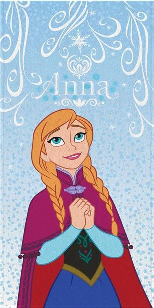 Toalha de Banho Felpuda Frozen 3 - Lepper Kids Ref 061093-88