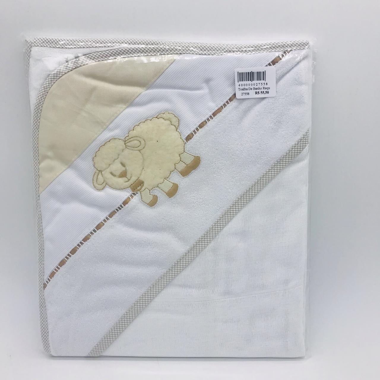 Toalha de Banho Requinte Ovelha Bege - Catavento Ref 502