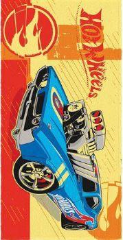 Toalha Felpuda de Banho Estampada Hot Wheels 88 - Lepper Ref 061053