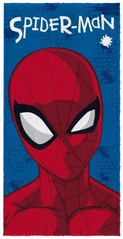 Toalha Felpuda de Banho Spider Man Face - Lepper Ref 061241-88