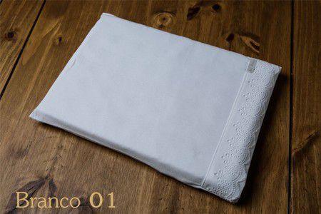 Travesseiro Bordado Inglês Branco - ac Baby Ref 5351