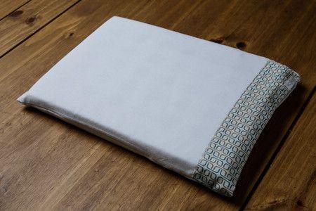 Travesseiro c/ Fronha Quadriculado Verde 22x32 - ac Baby Ref 05346