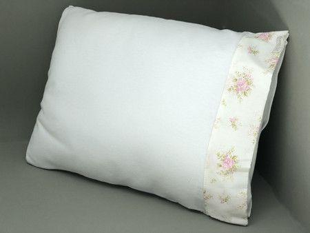 Travesseiro c/ Fronha Floral Princess - ac Baby Ref 04208