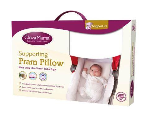 Travesseiro Para Carrinho Pram Pillow - Clevamama Girotondo Ref Cl7233
