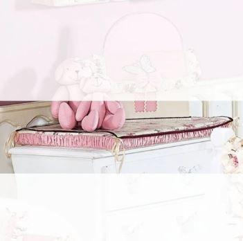 Trocador Fleur Rosé - Batistela Ref 6105