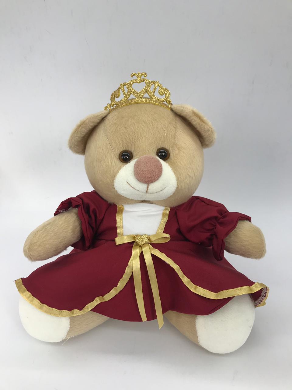 Ursa Teddy Princesa Bordo - Ckd Ref 366 m