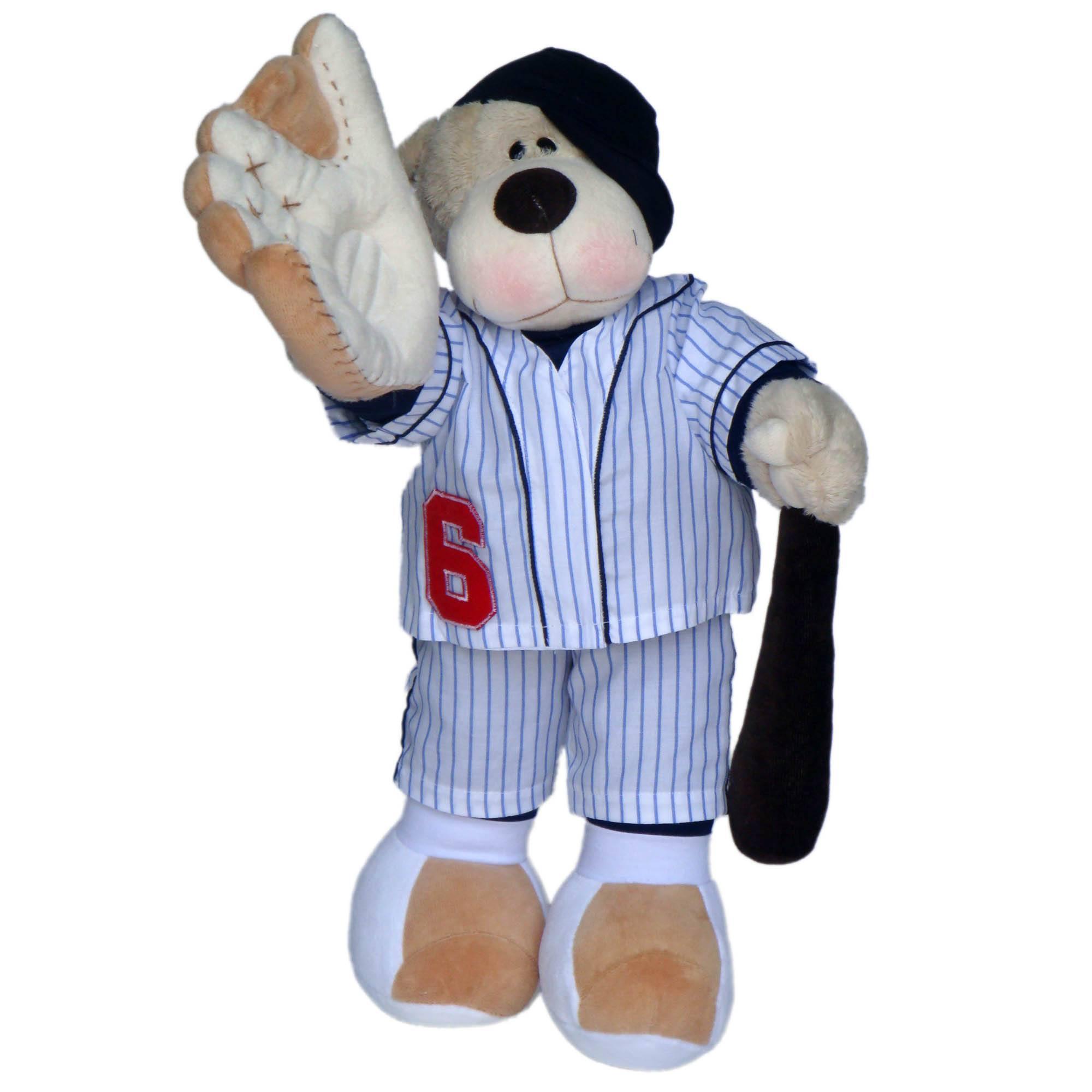 Urso Pelucia Bochecha Baseball - Silvia Polito
