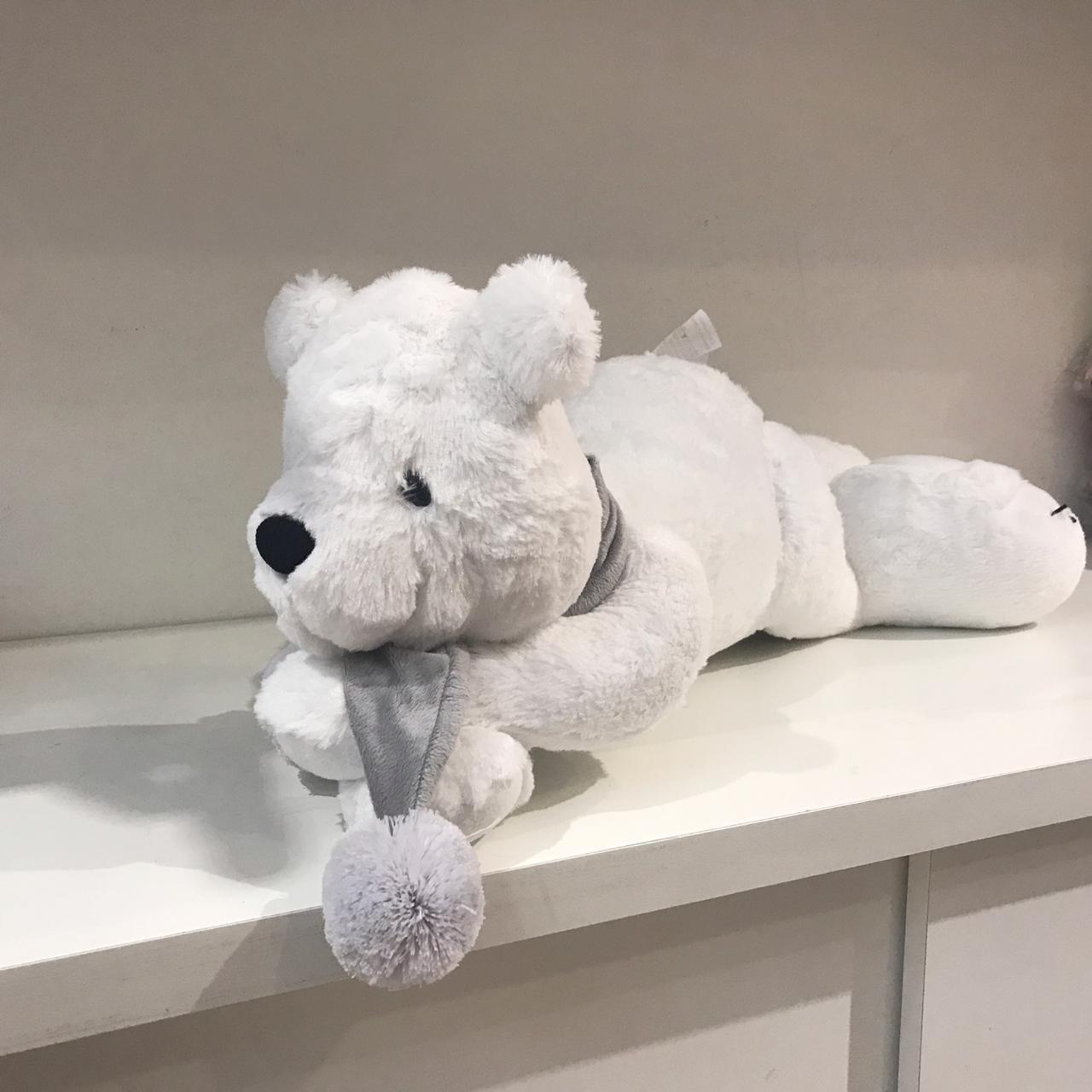 Urso Polar Deitado Silvia Polito Ref 527