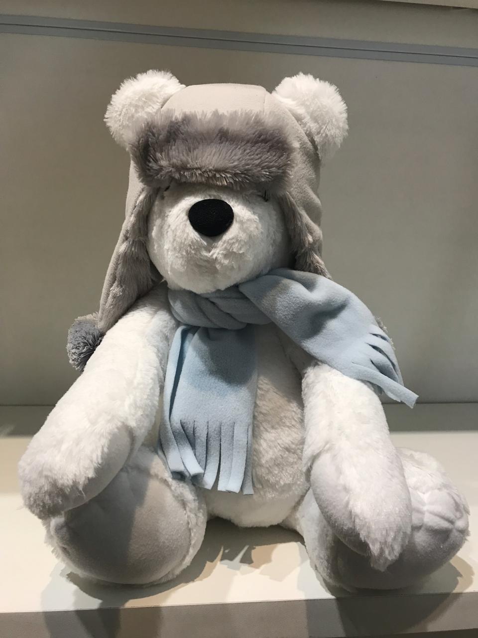 Urso Polar Sentado Silvia Polito Ref 3015