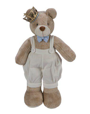 Urso Principe Baby Decoração - Silvia Polito Ref 157