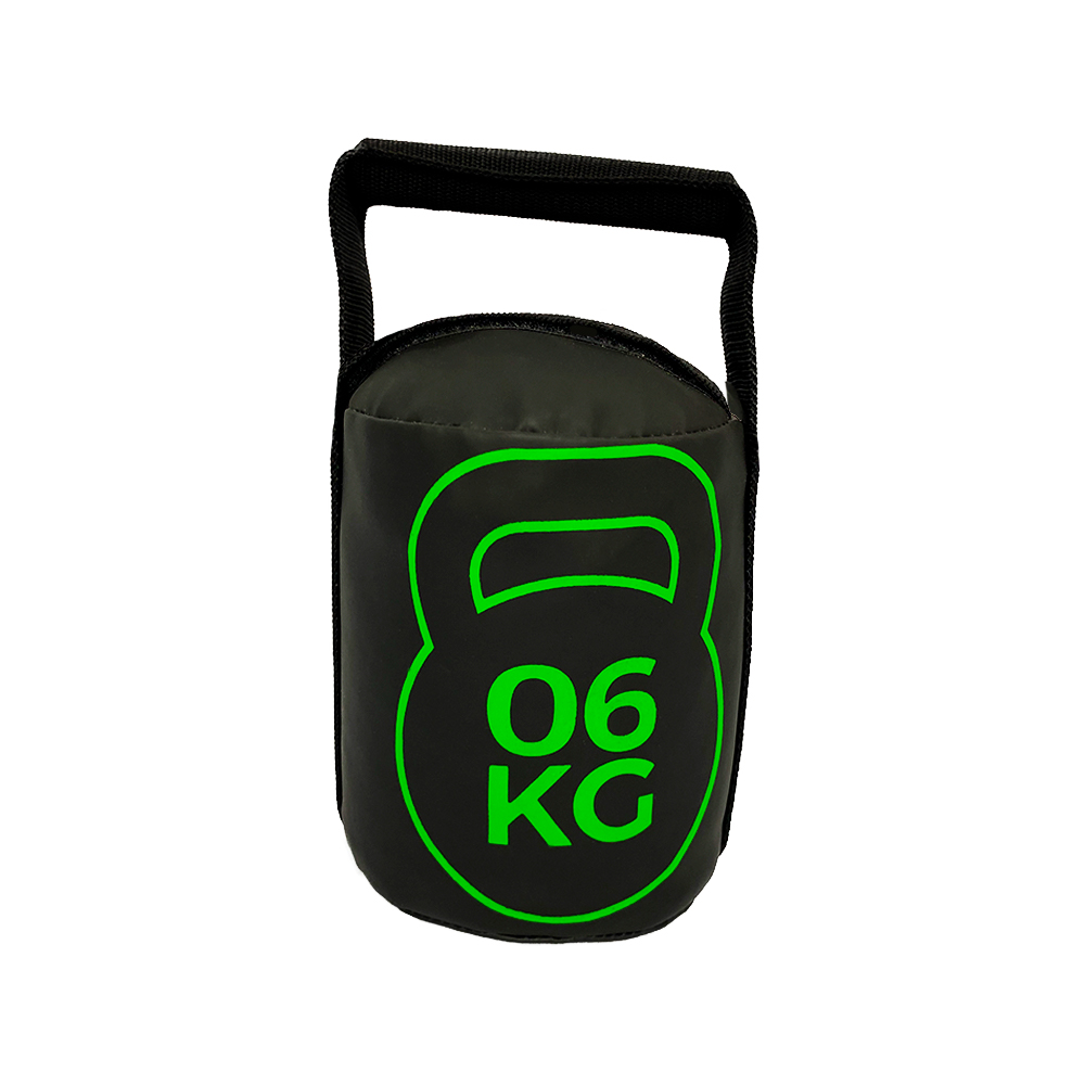Bolsa de Peso Kettlebell 6kg Tecido Emborrachado para Treinos