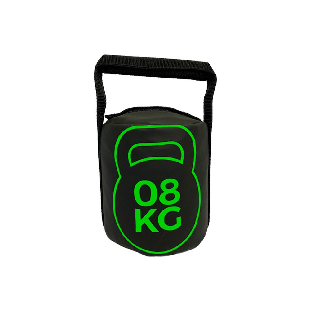 Bolsa de Peso Kettlebell 8kg Tecido Emborrachado para Treinos