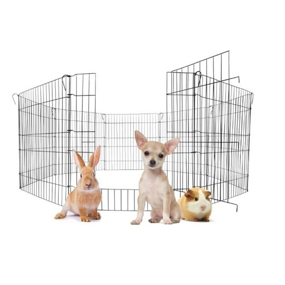 Cercado para Pet Kit com Portão Cães Canil Cachorro 8/62