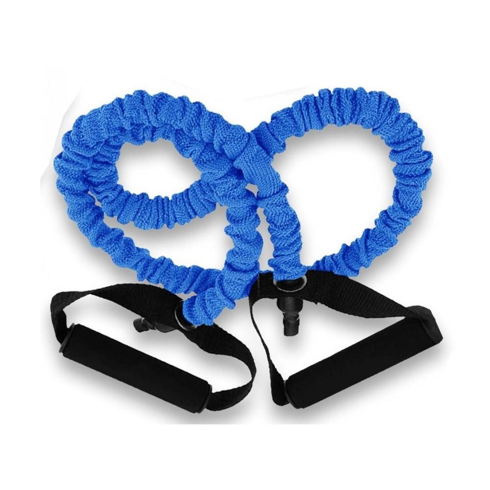 Kit Extensor Elástico Fitness para Exercícios