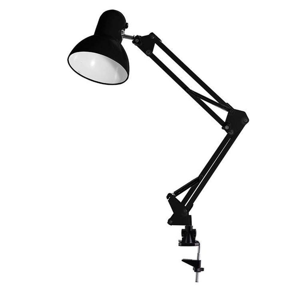 Luminaria Articulada de Mesa Bivolt com Clip Ajustável