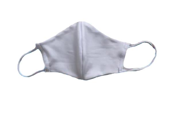 Mascara de Proteção Reutilizável com Tecido Duplo 100% Poliéster Kit com 5